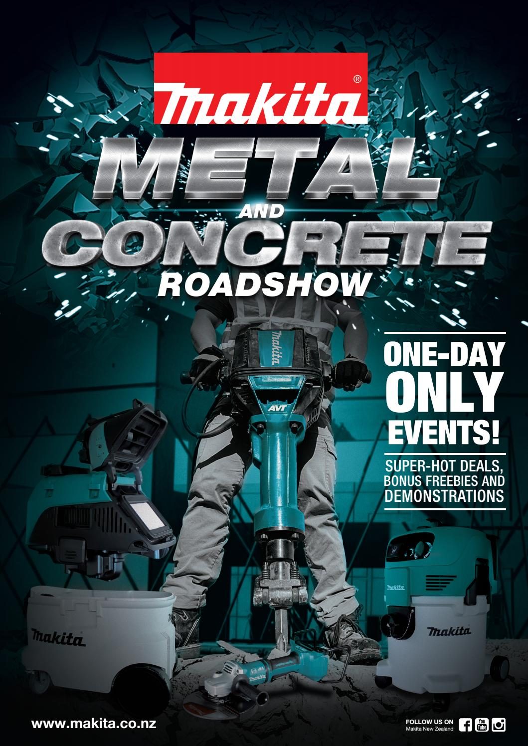 Metal and Concrete 2017 by Makita New Zealand Ltd - issuu