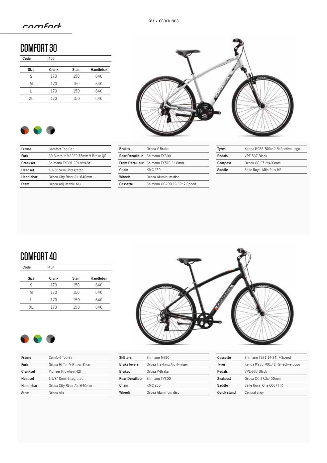 Orbea 2018 Catalogue By Todomountainbike Issuu Sprocket Shimano Tz 31
