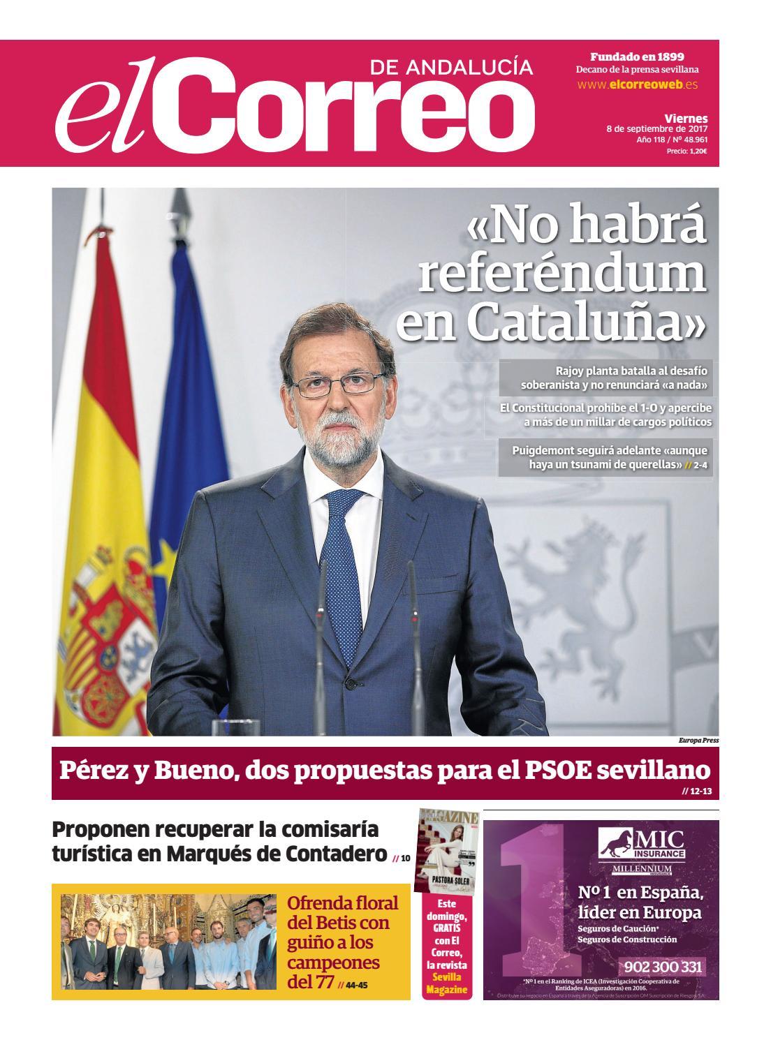 08.09.2017 El Correo de Andalucía by EL CORREO DE ANDALUCÍA S.L. - issuu 8a507df2fc2
