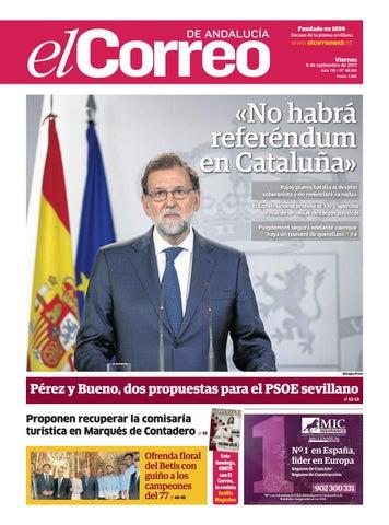 08.09.2017 El Correo de Andalucía by EL CORREO DE ANDALUCÍA S.L. - issuu 8f116706d0c