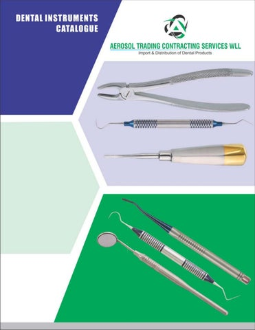 Aerosol trading dental catalogue pdf by Aerosol Trading Contracting
