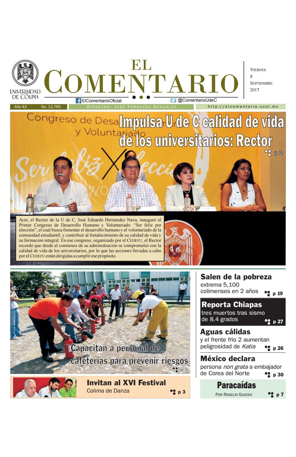 Edición del viernes 8 de septiembre de 2017 by El Comentario 2017 ...