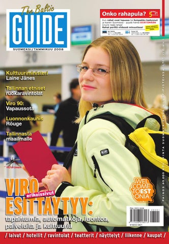 low priced 81649 7fc00 The Baltic Guide FIN Tammikuu 2008 by The Baltic Guide - issuu