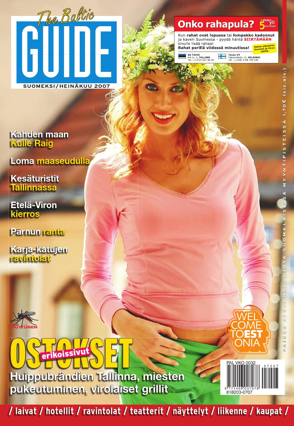 The Baltic Guide FIN Heinäkuu 2007 by The Baltic Guide - issuu db32a2620f