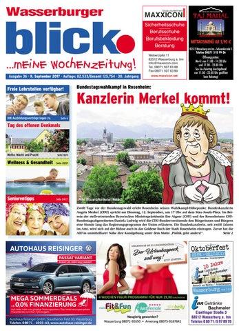 Wasserburger blick - Ausgabe 36   2017 by Blickpunkt Verlag - issuu