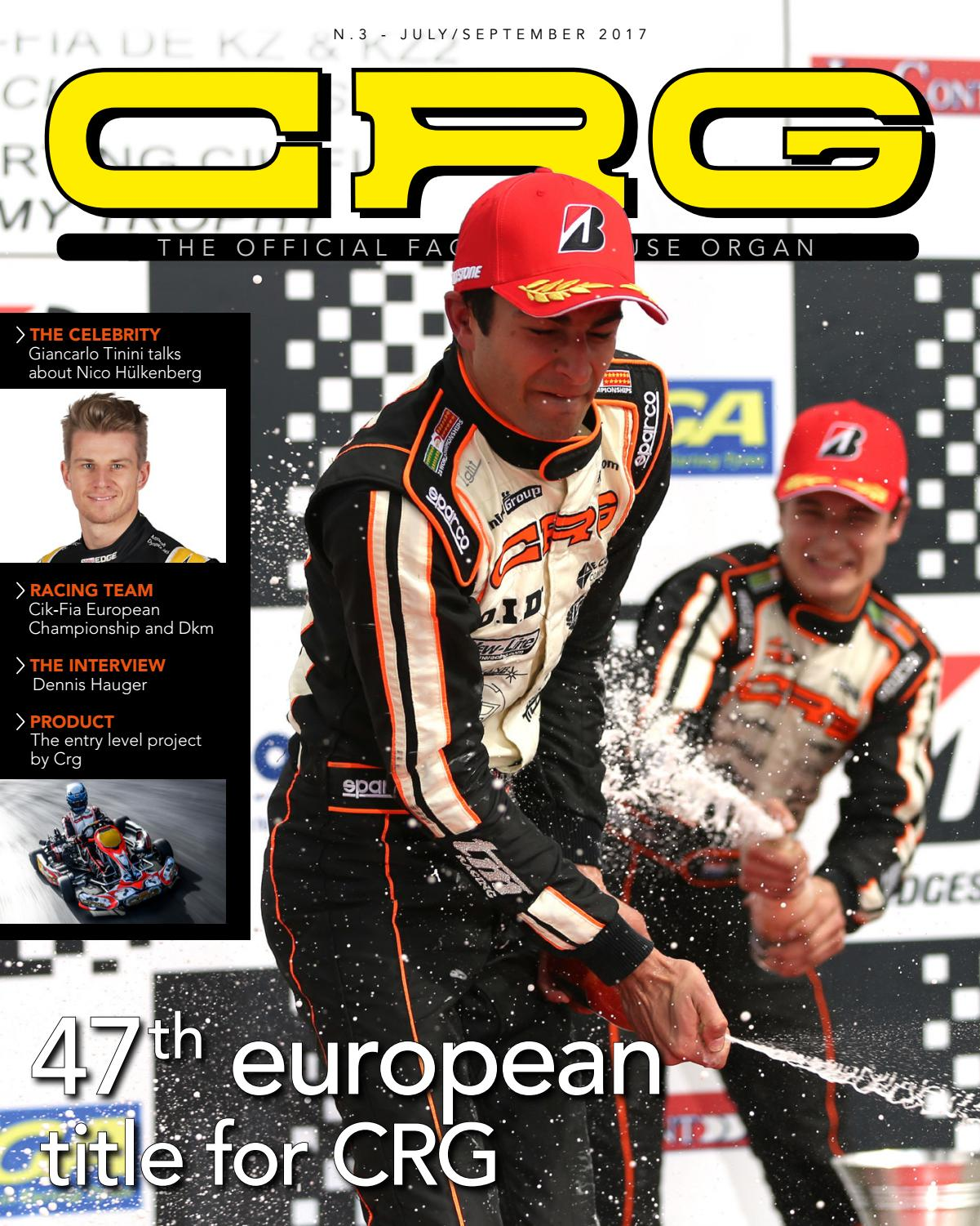 Crg Magazine N 3 Uk By Kartcrg Issuu