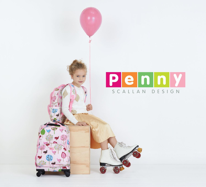 Penny Scallan Drawstring Bag Big City Gym Bag