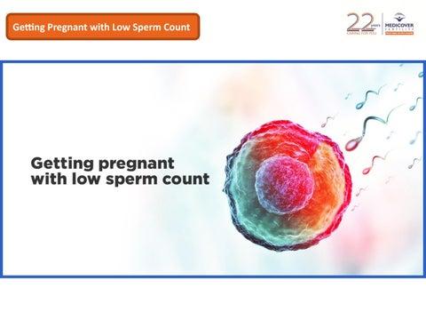 L-arge low sperm count
