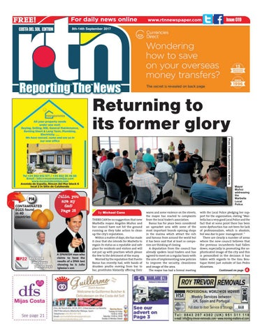 Rtn Newspaper Costa Del Sol 08 14 September 2017 Issue