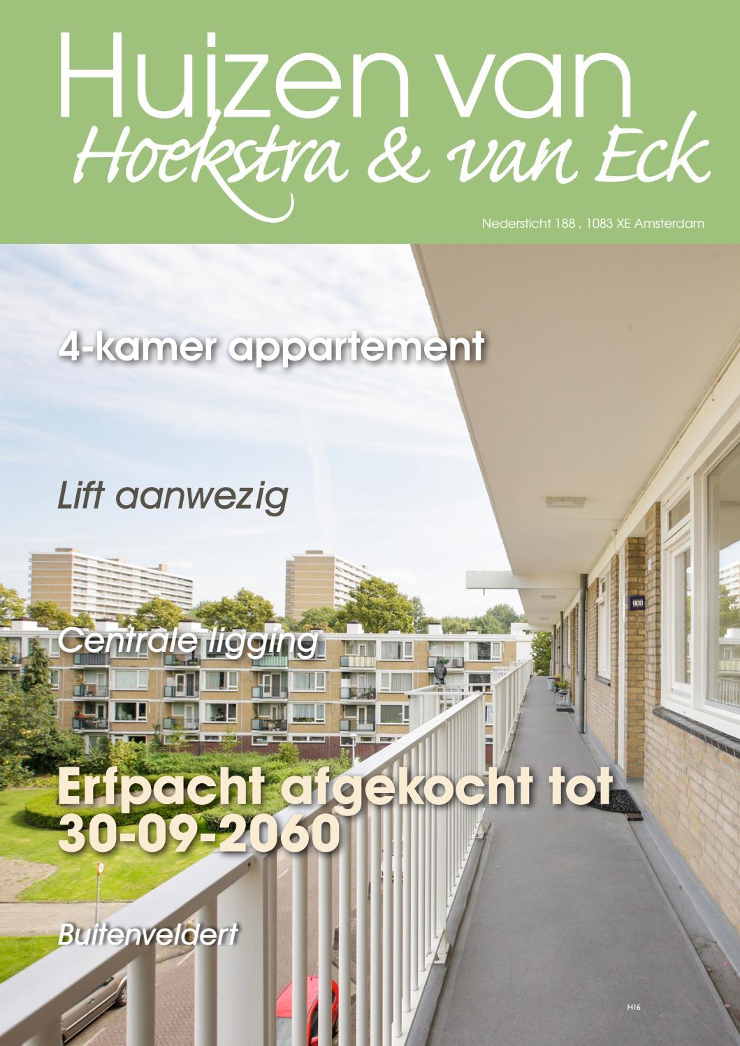 Amsterdam, Nedersticht, 188 by Hoekstra en van Eck Makelaars - méér ...