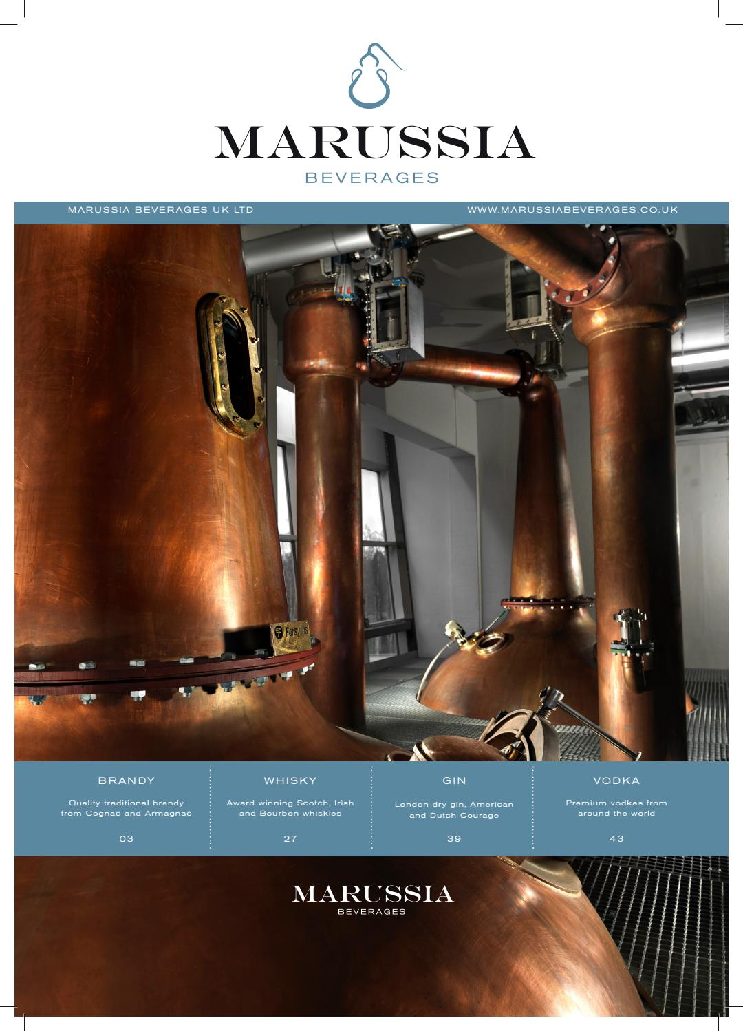 Full product catalogue by Marussia Beverages - Issuu