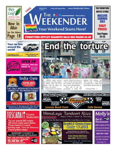 The Weekender Issue 11 Marina Baixa Benidorm By Impact