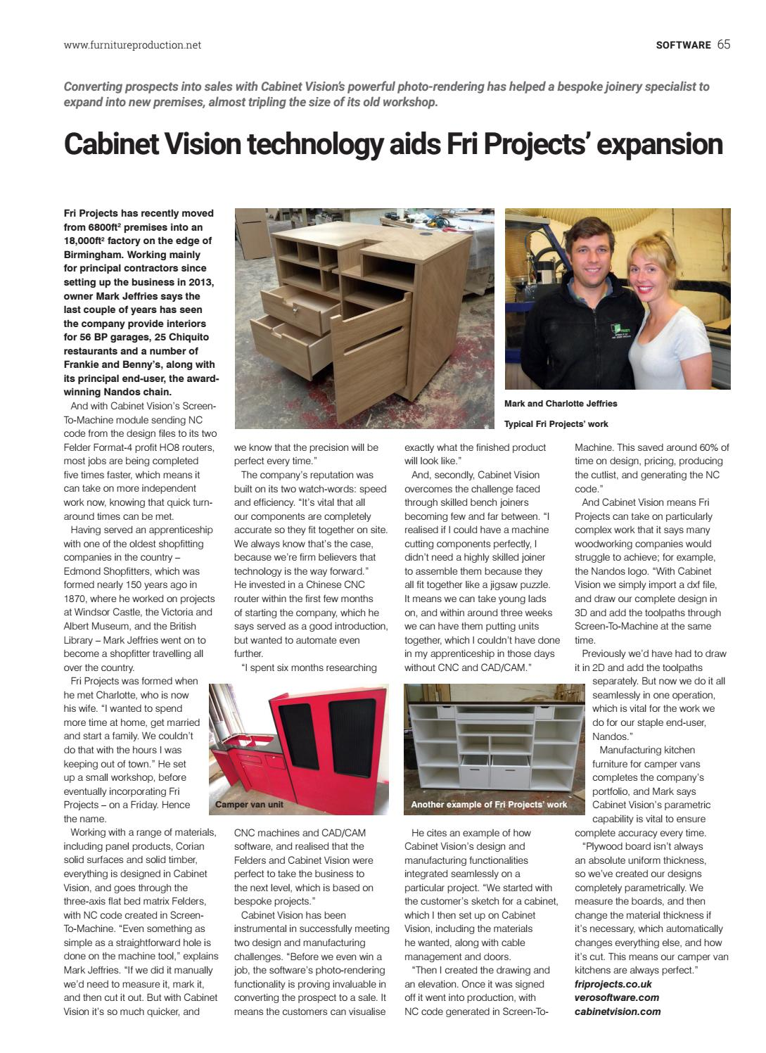 Furniture Joinery Production 287 By Gearing Media Group Ltd Issuu