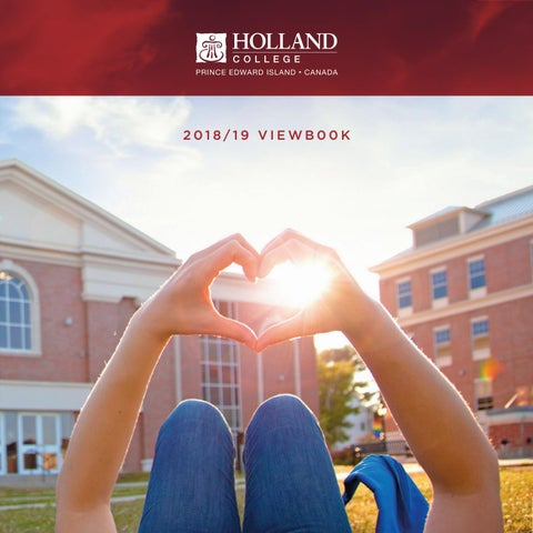 Holland College 2018 19 Viewbook By Holland College Issuu