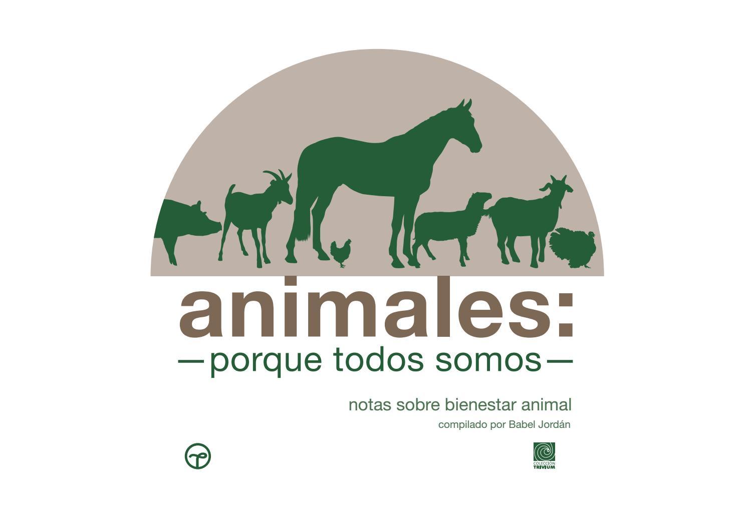 Animales Porque Todos Somos By Senasica Issuu