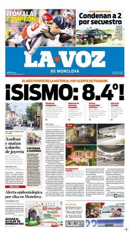 Periodico digital 08 septiembre by LA VOZ Monclova - issuu fe7fba00b402