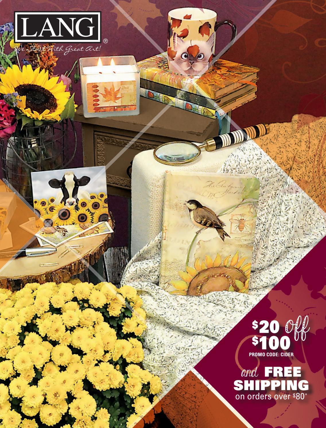 30 x 18 Lang 3210049 Surrounded by Sunflowers Door Mat by Lowell Herrero