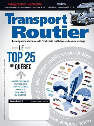 Media Routier Septembre Annex Issuu Business By Transport 2017 BtxdCshQr