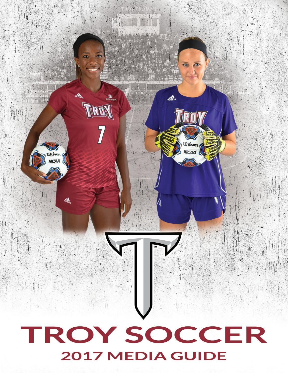 6ca732bb9ea 2017 Troy Soccer Media Guide by Troy University Athletics - issuu