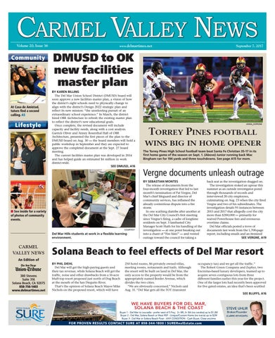 ef4862cca52 Carmel Valley News 09 07 17 by MainStreet Media - issuu