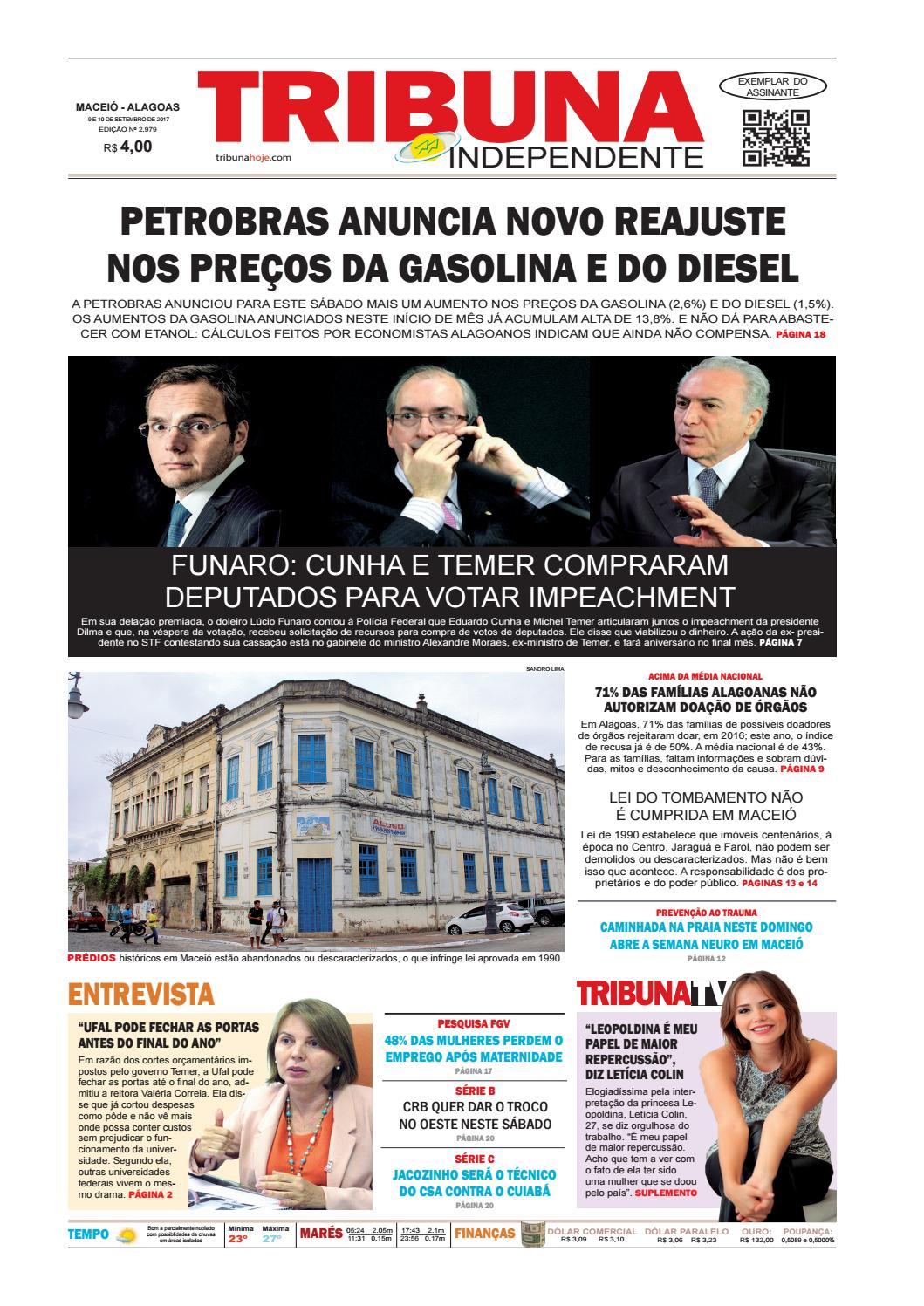 Edição número 2979 - 9 e 10 de setembro de 2017 by Tribuna Hoje - issuu b841b7f9b725f