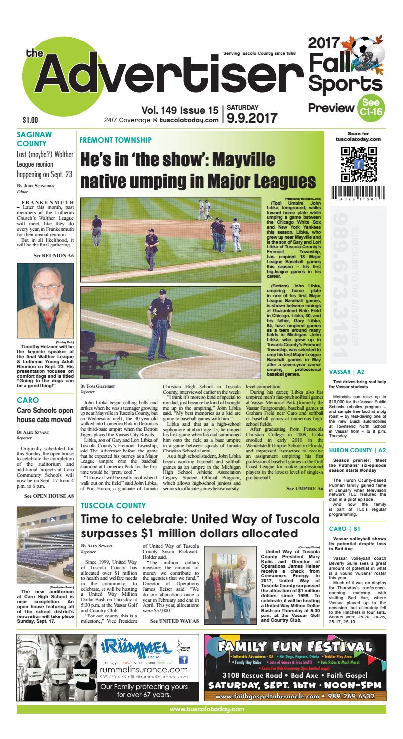 8d53e48e494 Tca 9 9 17 all pages by Tuscola County Advertiser - issuu