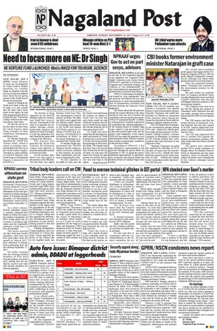 September 10, 2017 by Nagaland Post - issuu