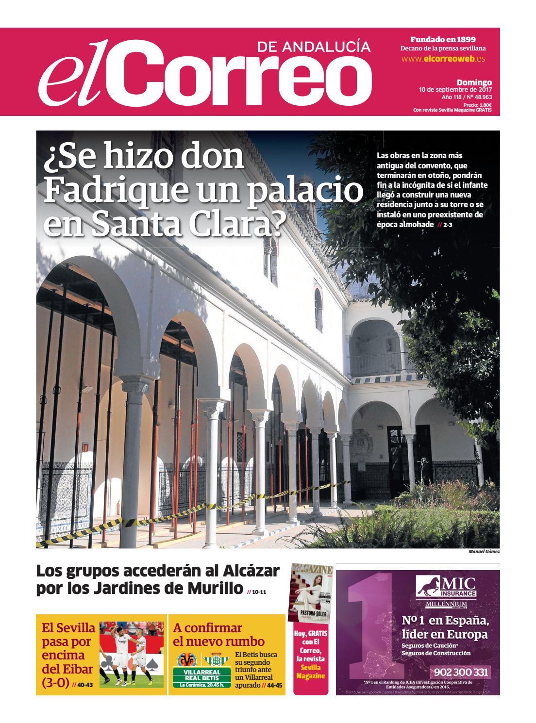 El S lIssuu 10 Correo De Andalucía 2017 By 09 Yb7vfy6Igm