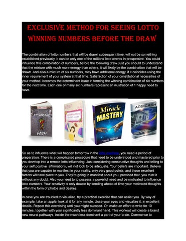 Pdf miracle mastery