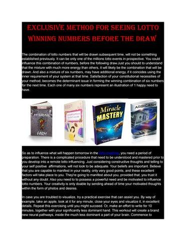 Pdf miracle mastery