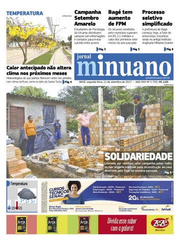 20170911 by Jornal Minuano - issuu fb6cd72744837
