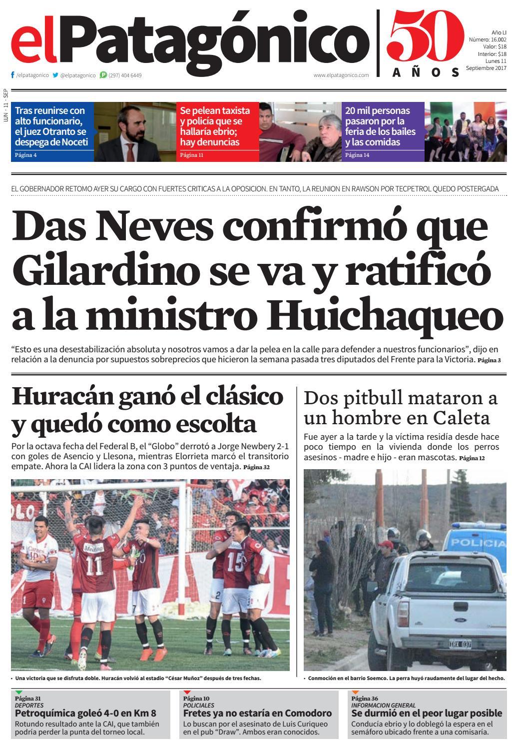 edicion230610092017.pdf by El Patagonico - issuu