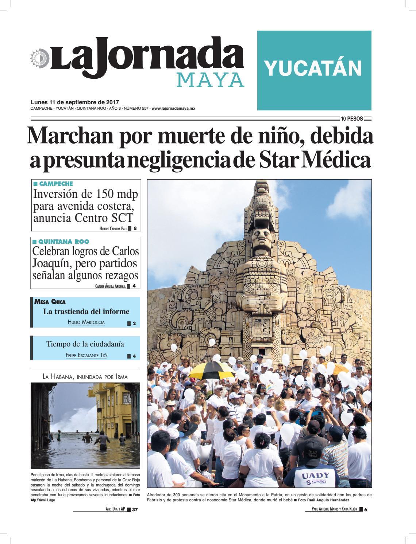 a8f7c1d71ad0 La Jornada Maya · 11 de septiembre, 2017 by La Jornada Maya - issuu