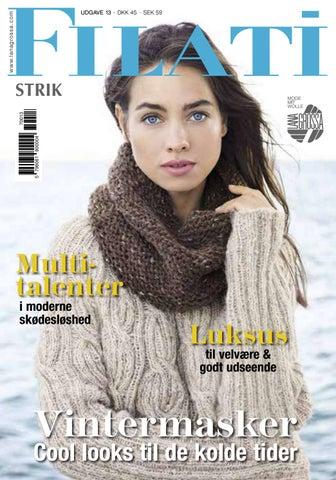 28443035 Lana Grossa FILATI Strik Udgave 13 (DK) by FILATI Wolle-Handstrick ...