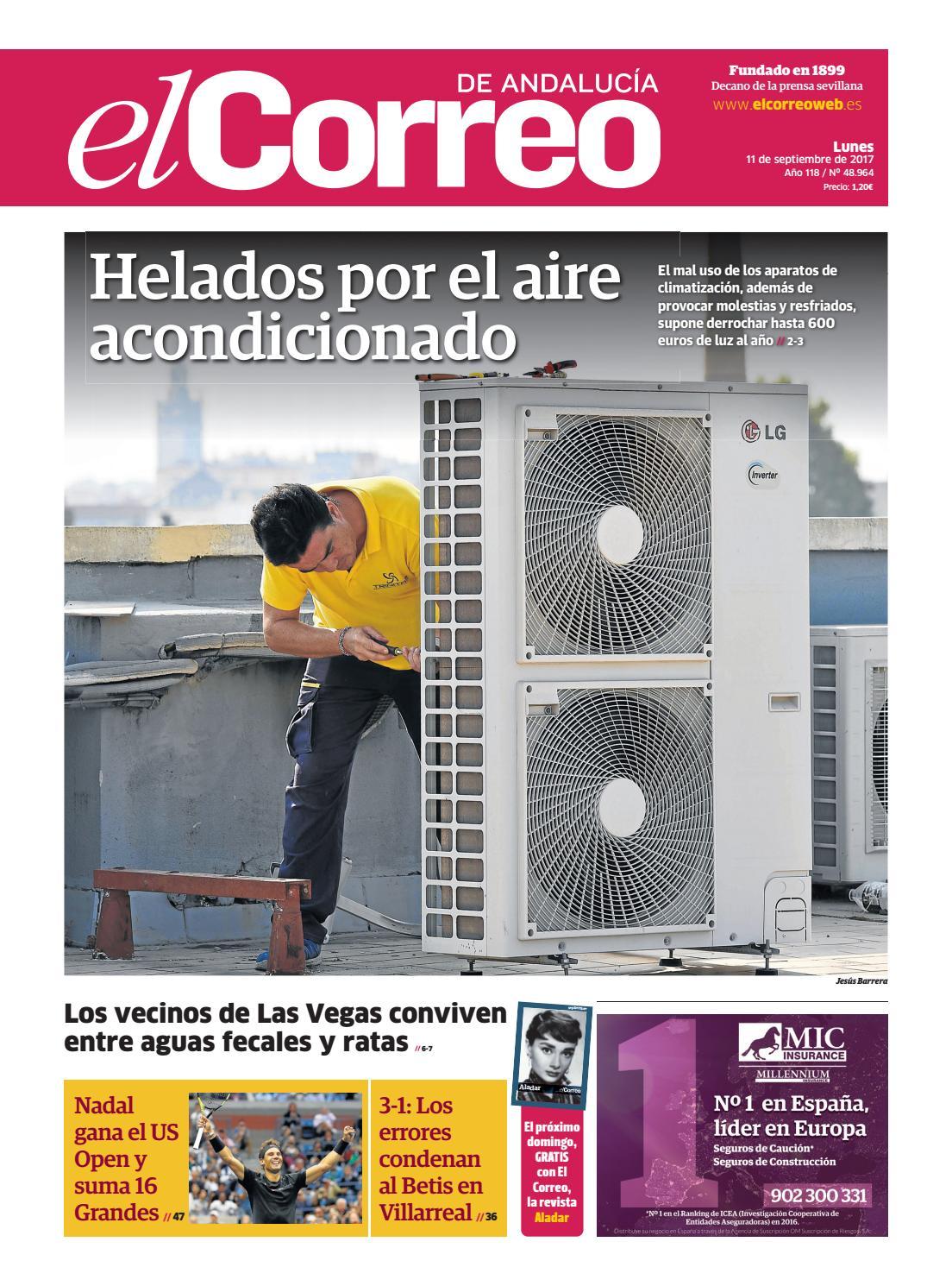 11 09 2017 El Correo De Andaluc A By El Correo De Andaluc A S L  # Muebles Mebol Lucena