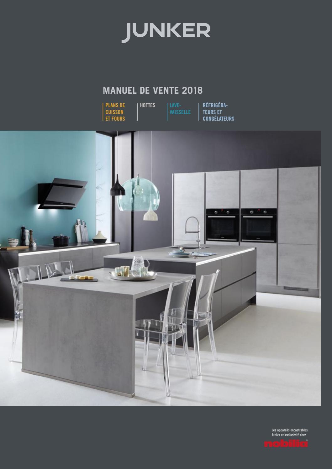 Hauteur De Hotte Pour Gaz junker manuel de vente 2018junker einbaugeräte - issuu