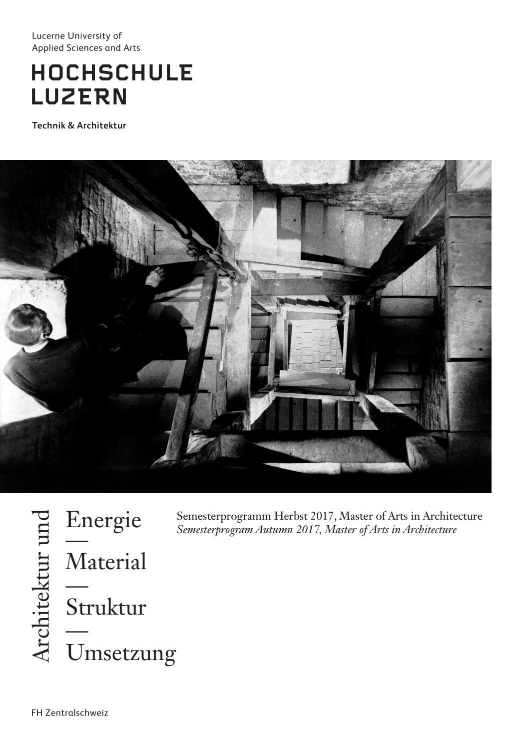 170911 17hs reader by Master Architektur - issuu