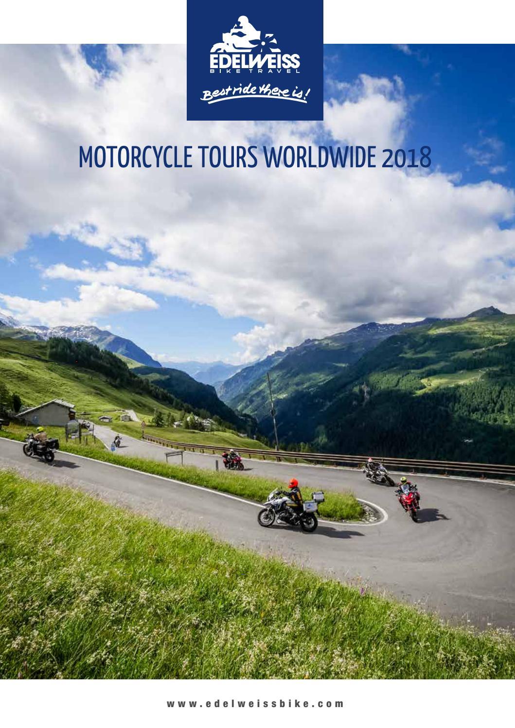 Edelweiss Motorcycle Program 2018 by Stephan Weckschmied - issuu