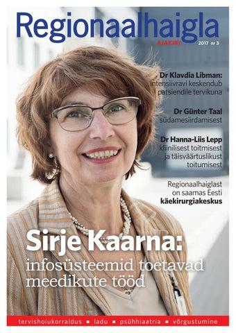 3af1a3d4eed Regionaalhaigla ajakiri 2017 nr7 by Regionaalhaigla ajakiri - issuu