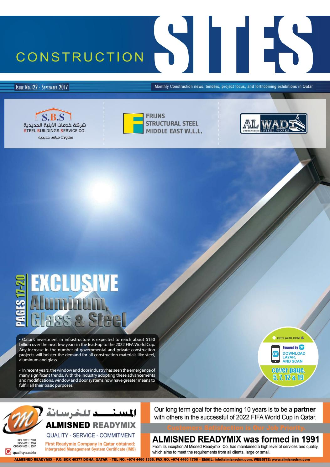 Construction Sites I September Issue no  122 by Qatar