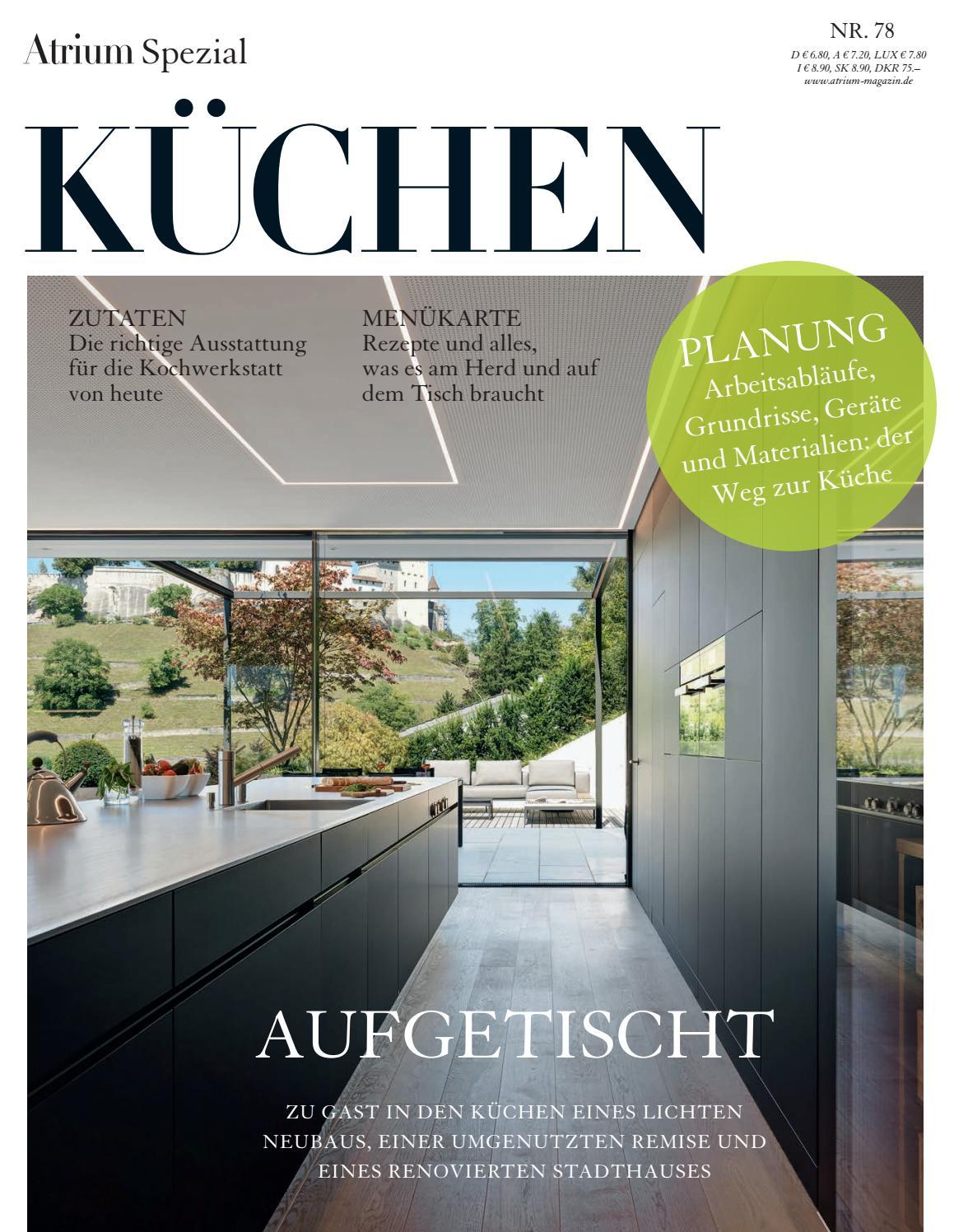 Atrium Spezial – KÜCHEN 2017/18 by Archithema Verlag - issuu