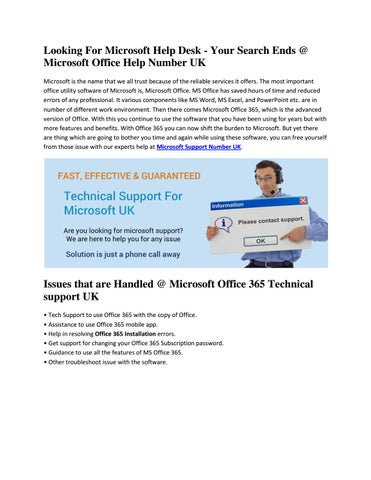 Good Looking For Microsoft Help Desk   Your Search Ends @ Microsoft Office Help  Number UK Microsoft Is The Name That We All Trust Because Of The Reliable  ... Home Design Ideas