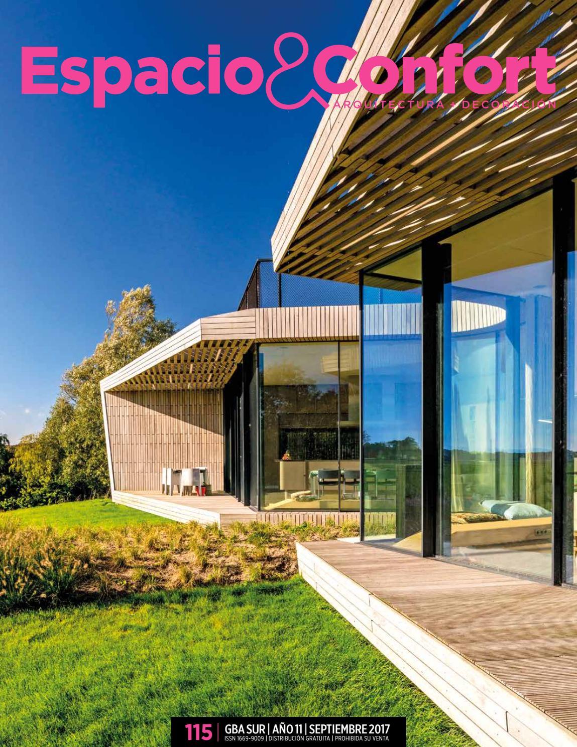 115 gba septiembre 2017 by Revista Espacio&Confort - Arquitectura + ...