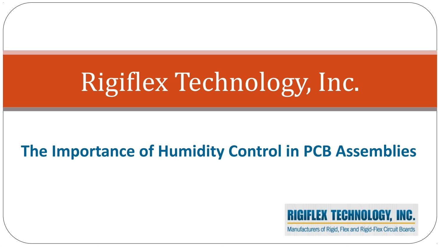 The Importance Of Humidity Control In Pcb Assemblies By Rigiflex Air Conditioner Boardpcb Printed Circuit Board Supplier Technology Issuu
