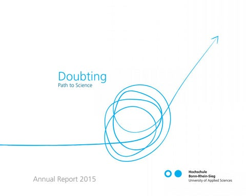 Doubting Path To Schience Annual Report 2015 Of The