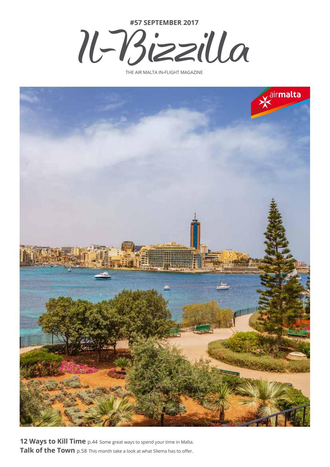 Il Bizzilla September 2017 By Air Malta Issuu Brian Ellul Blog Airx New Controller