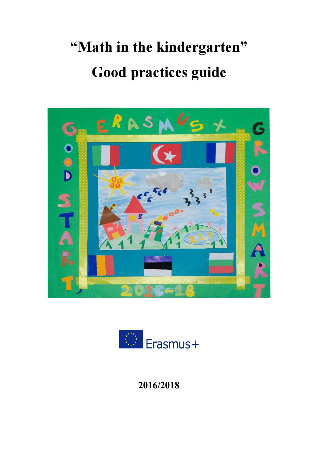 Math in the kindergarten good practices guide (1) by Karin Kütt - issuu