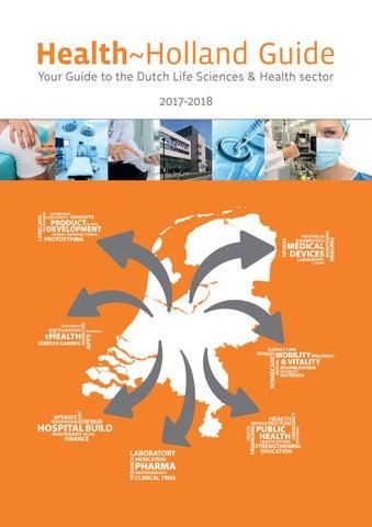 Health~Holland Guide 2017-2018 by Industrielinqs pers en platform