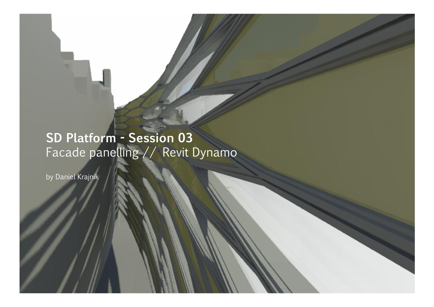 Facade Panelling // Revit Dynamo by Soomeen Hahm - issuu