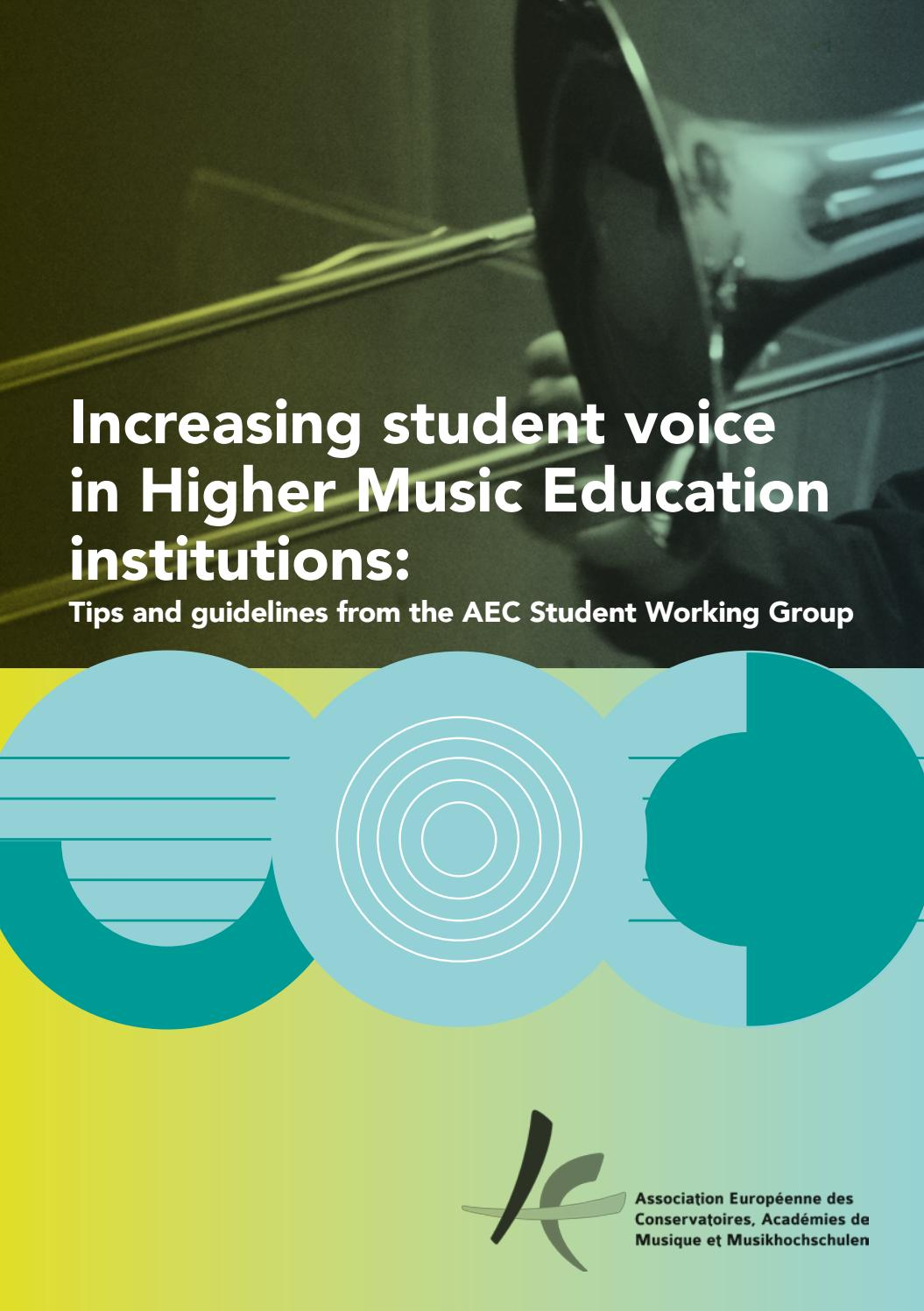Increasing student voice in HME institutions  Tips and